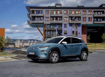 Hyundai Kona Electric достиг отметки в 100 000 проданных по всему миру автомобилей