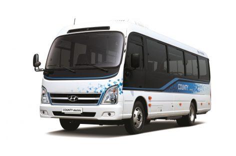 County Electric – первый электрический микроавтобус от Hyundai