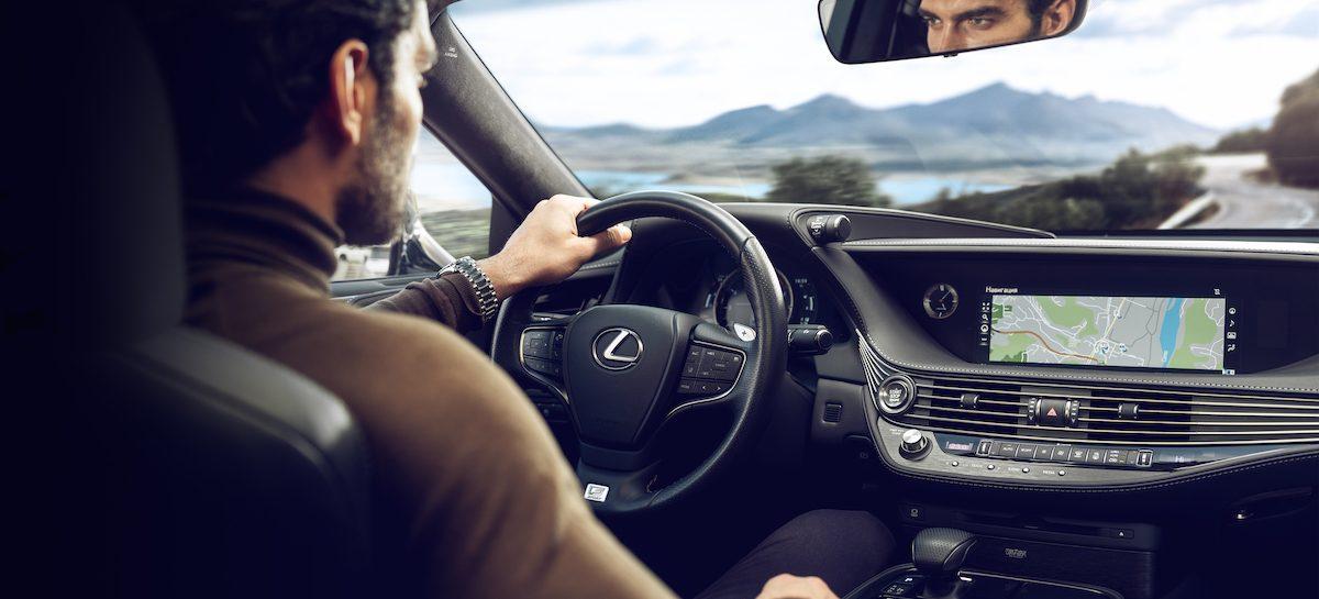 Системы активной безопасности от Lexus