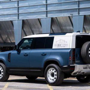Коммерческие версии Land Rover Defender снова получат обозначение Hard Top