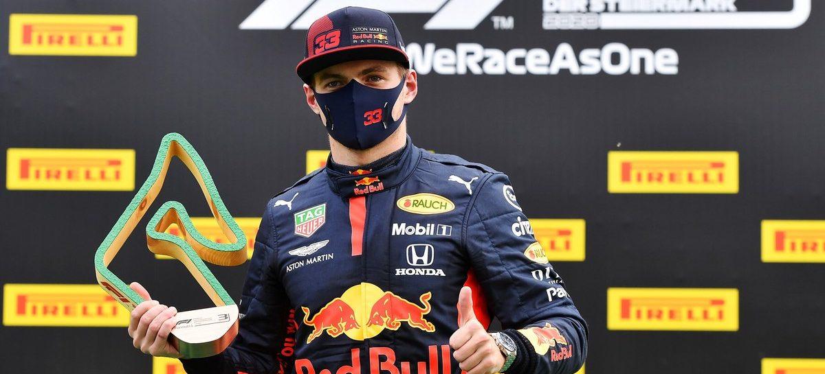 Макс Ферстаппен принес Honda место на подиуме на этапе «Формулы-1» в Австрии