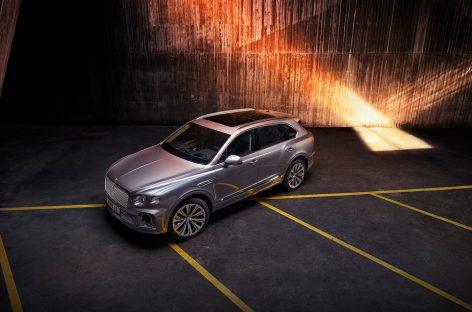 Bentley приступил к выпуску нового Bentayga