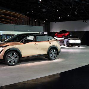 Новая эра: электрический купе-кроссовер Nissan Ariya