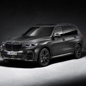 BMW представляет лимитированную серию BMW X7 Dark Shadow Edition