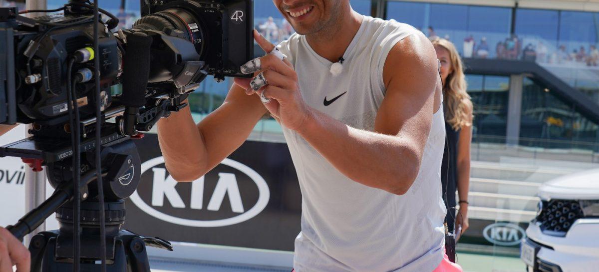 Kia продлевает сотрудничество с теннисистом Рафаэлем Надалем