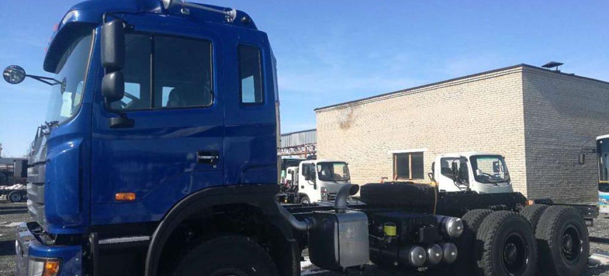 JAC Motors сертифицировал в России шасси JAC N350 казахстанской сборки