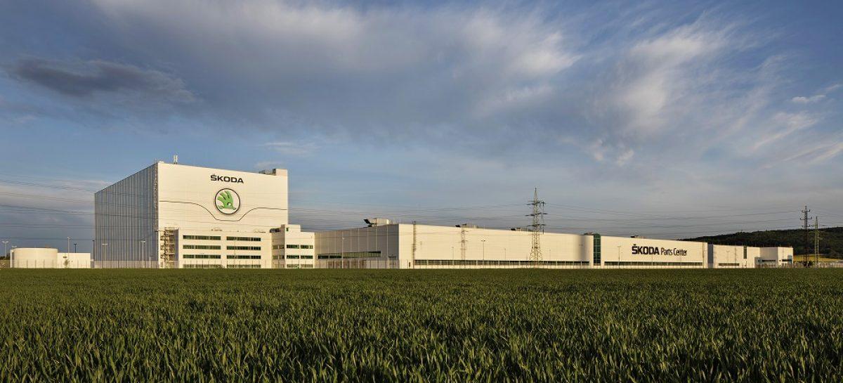 Центр оригинальных деталей Škoda отмечает 20-летний юбилей
