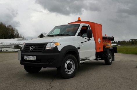 УАЗ выпустит новый спецавтомобиль – универсальный топливозаправщик