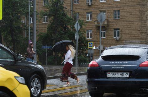 Дождливая погода ожидается в Московском регионе на следующей неделе
