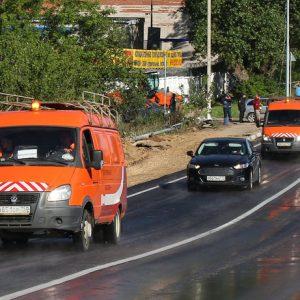 Участок Волоколамского шоссе запустили в Рузском округе после ЧП