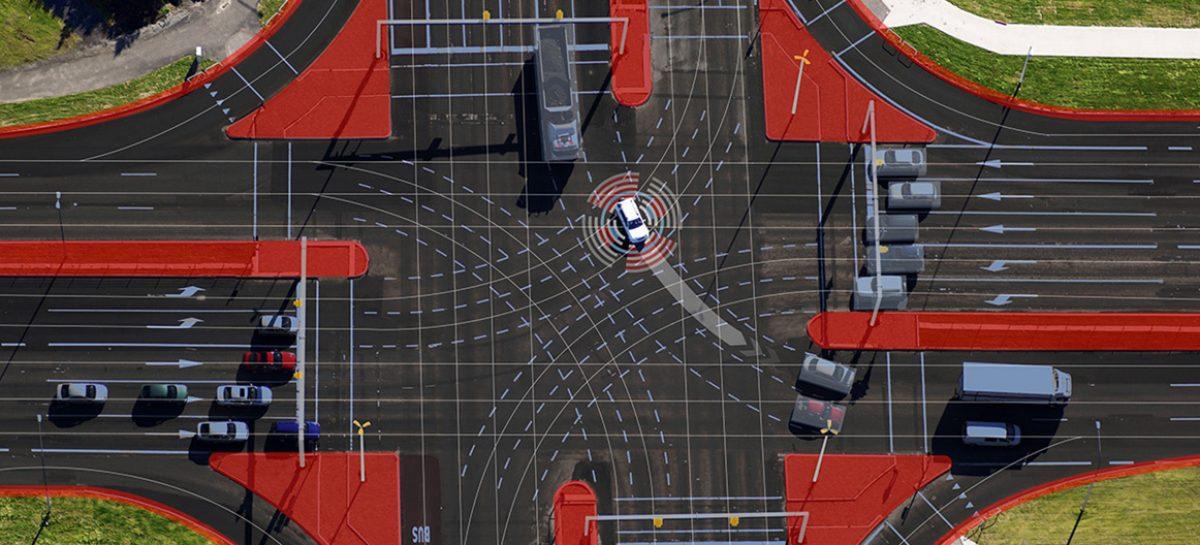 Как автомобили и инфраструктура работают вместе в автоматизированном городском движении