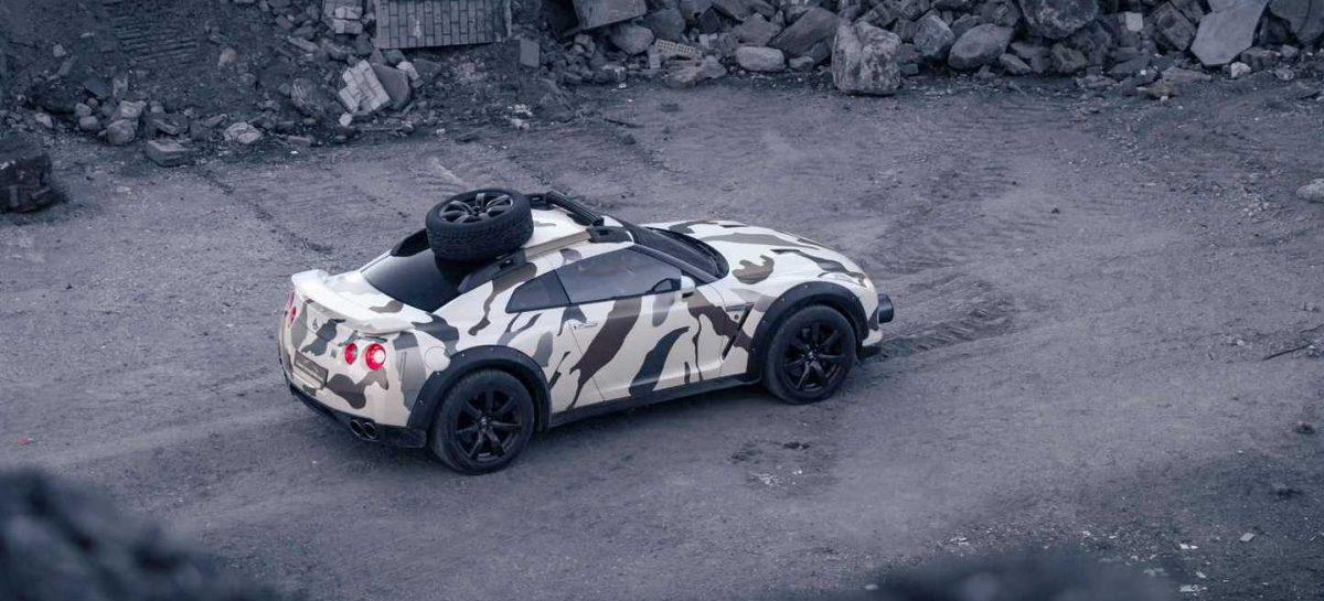 Модернизированный Nissan GT-R уверенно чувствует себя на любом бездорожье