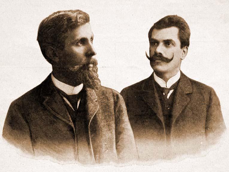 Вацлав Лаурин и Вацлав Клемент
