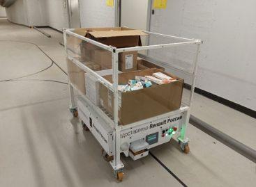 Renault предоставила беспилотники больнице в Коммунарке