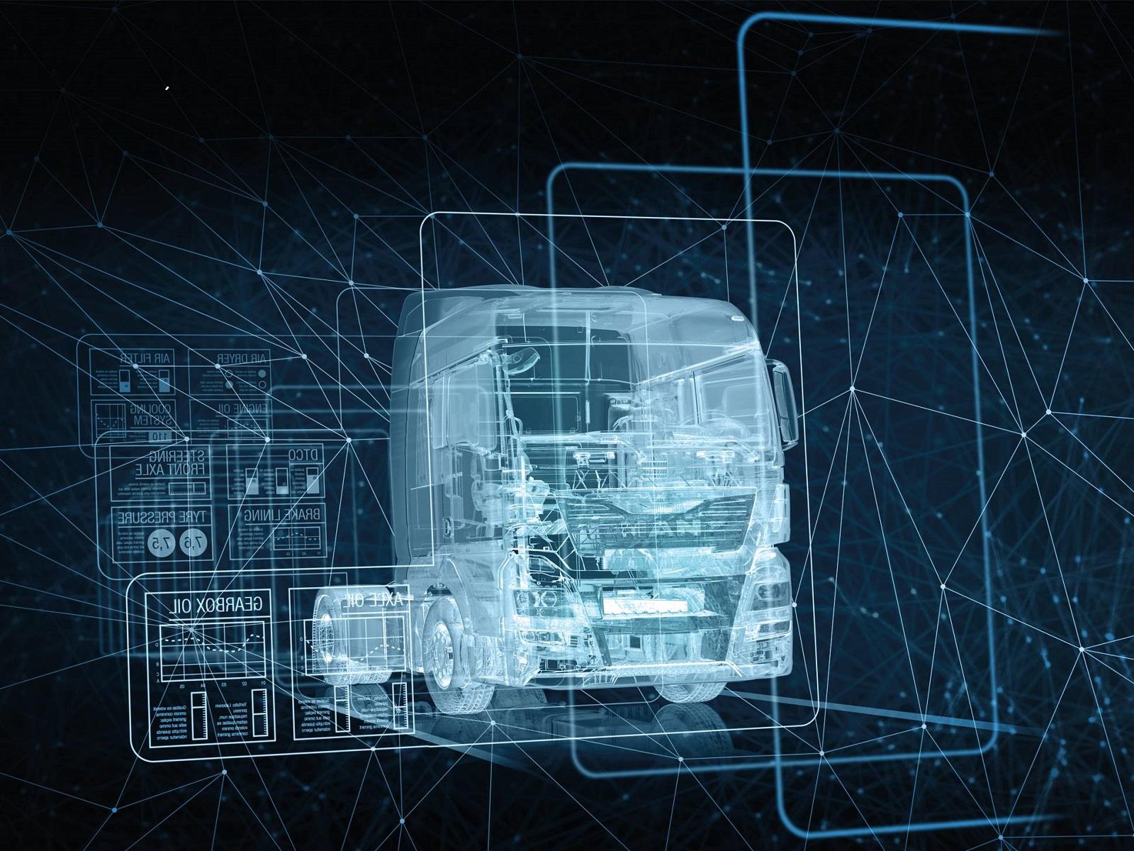 схема грузового автомобиля