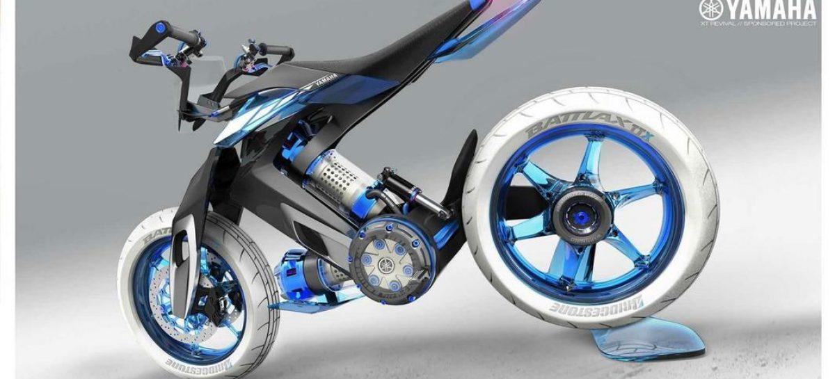 Yamaha заменит цепь водяным приводом на мотоциклах