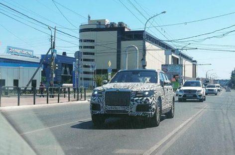 Aurus Komendant равняют на Mercedes и Cruiser 200