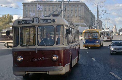 Московские власти избавились от троллейбусов