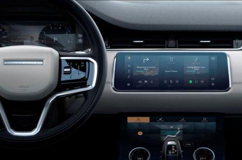 Новая информационно-развлекательная система Pivi доступна для Discovery Sport и Range Rover Evoque
