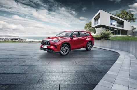 Стиль, комфорт и безопасность премиум-класса: открыт прием заказов на абсолютно новый Toyota Highlander