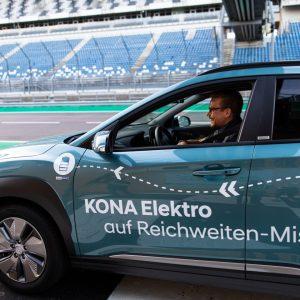 Кроссовер Hyundai KONA Electric установил рекорд по дальности пробега в 1 026 км