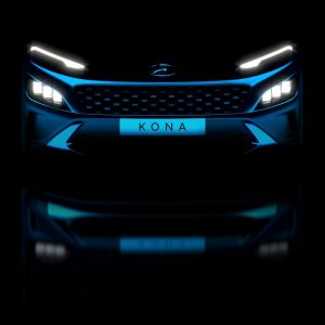 Hyundai представляет тизеры новых кроссоверов Kona и Kona N Line