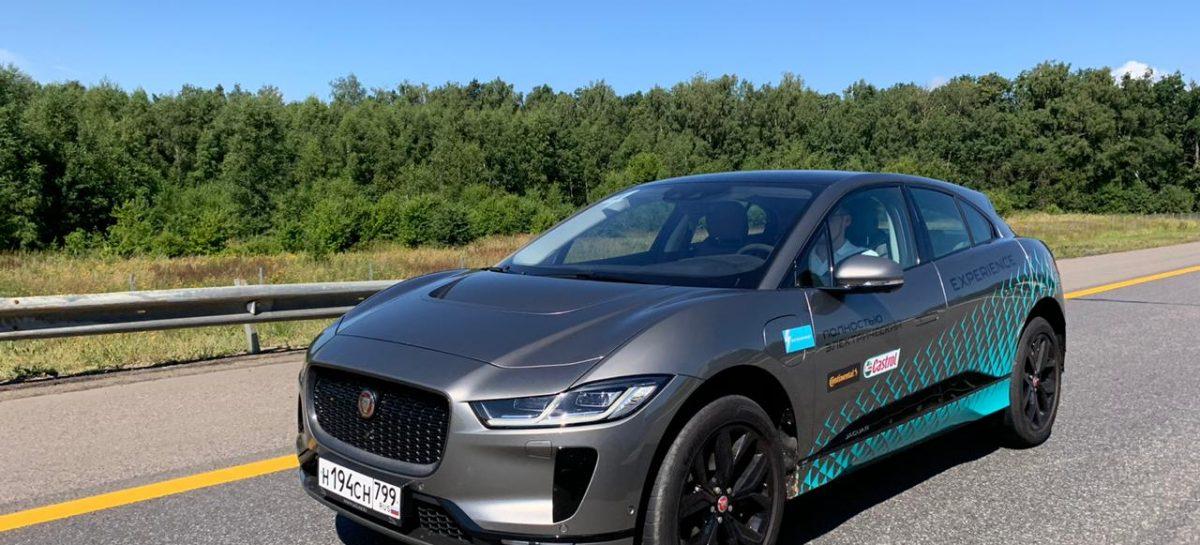 Jaguar I-PACE – из Москвы в Воронеж на одной зарядке
