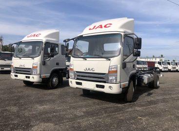 JAC Motors начал продажи новых модификаций грузовиков N-серии