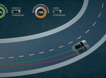 Проект Jaguar Land Rover позволит беспилотным автомобилям снизить риск укачивания пассажиров