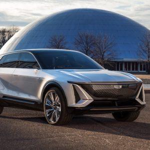 Cadillac представил электрокроссовер Lyriq