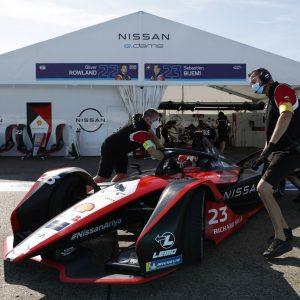 Команда Nissan e.dams завоевала второй подиум в финальной серии гонок чемпионата в Берлине