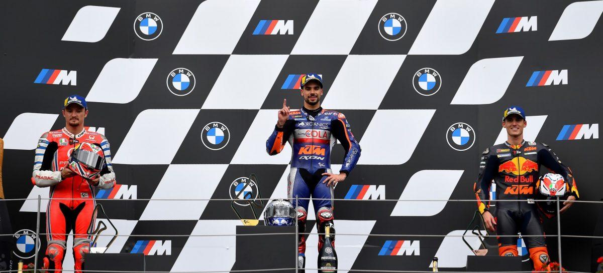 Пятый этап гонки MotoGP: победителем Гран-при Штирии становится Мигель Оливейра