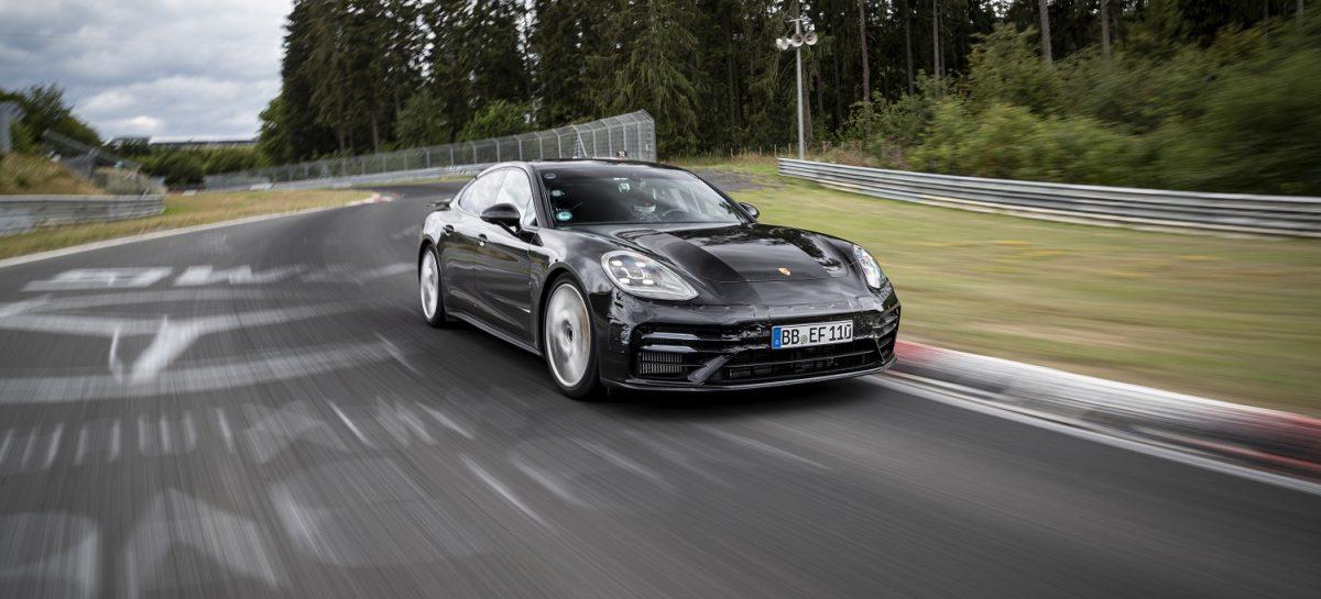 Новый Porsche Panamera на шинах MICHELIN Pilot Sport Cup 2 установил новый рекорд круга