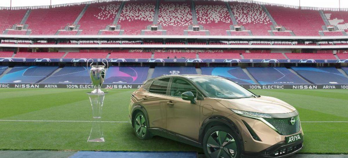 Nissan подарит водителям LEAF финал Лиги чемпионов УЕФА