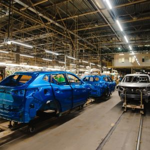 Nissan усовершенствовал технологию окраски автомобилей на заводе в Санкт-Петербурге