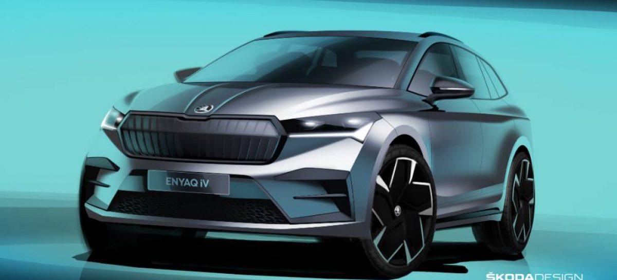 Новый ENYAQ iV: очередной шаг вперед в дизайне ŠKODA