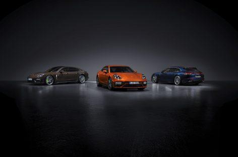 Новая гибридная модель: обновленный Porsche Panamera