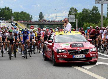 Škoda станет партнером велогонки Тур де Франс в 17-й раз