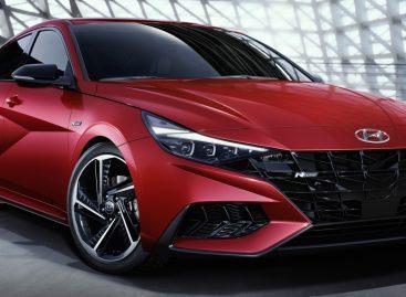 Hyundai представляет новый динамичный седан Elantra N Line
