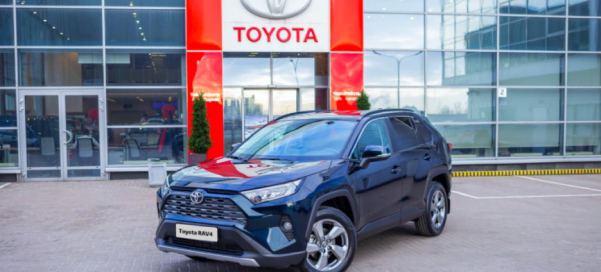 Toyota – лучший корпоративный автомобильный бренд в России по мнению клиентов