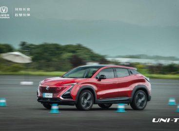 Changan UNI-T продемонстрировал блистательные результаты на соревнованиях серийных автомобилей в Китае