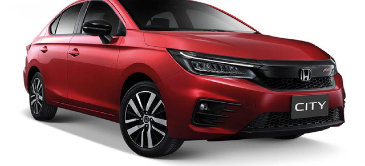 Honda запатентовала в России бюджетный седан City