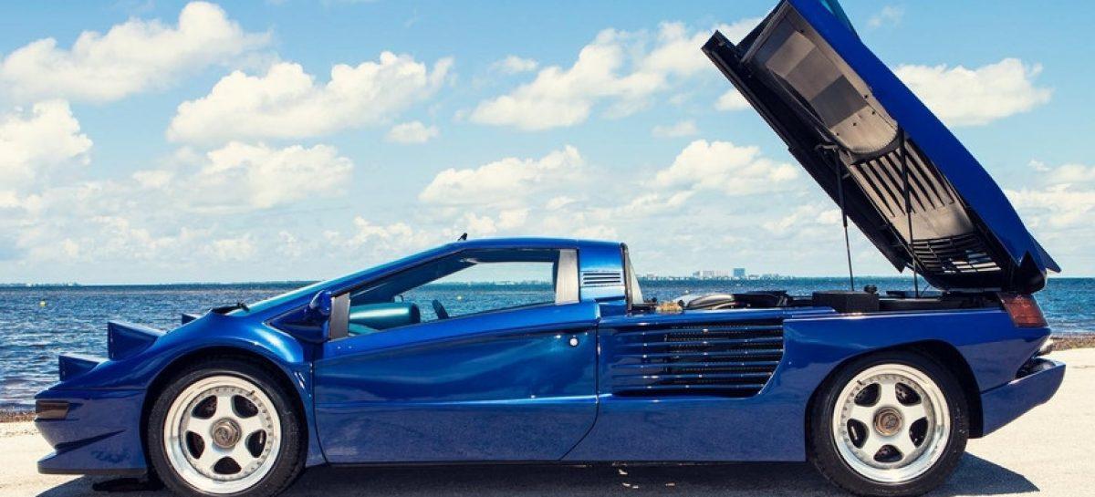 Редкий суперкар Cizeta V16T из коллекции Султана Брунея выставлен на продажу в США