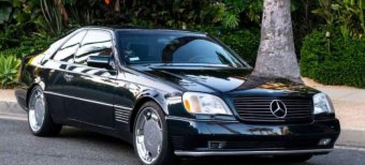 В продаже появился Mercedes-Benz CL600 легендарного Майкла Джордана