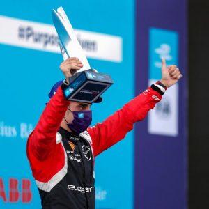 Команда Nissan e.dams завоевала подиум на первом двойном этапе в Берлине