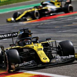 Второй подиум Renault DP World F1 Team в новой истории Формулы-1
