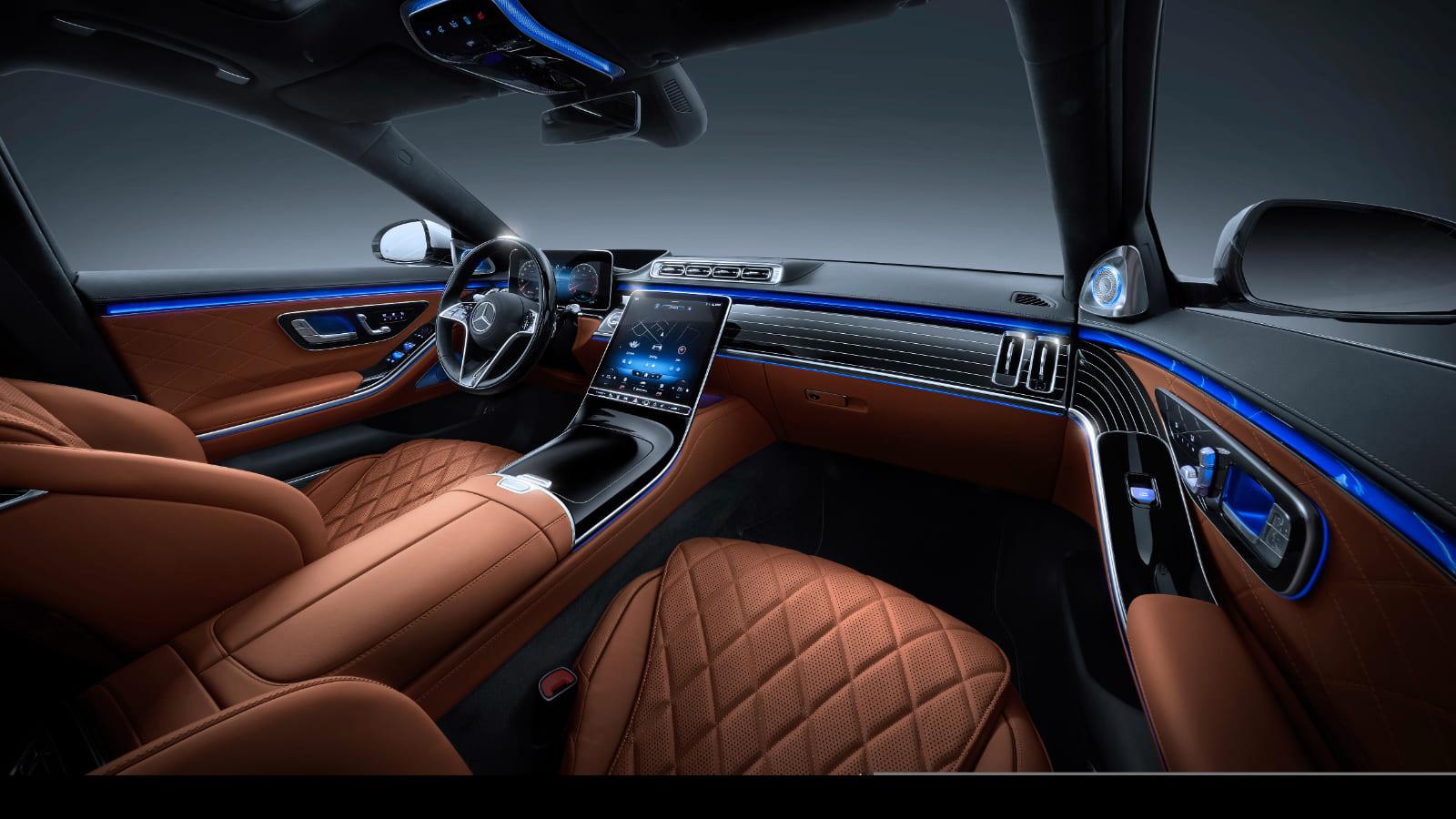 Mercedes-Benz S-Класса салон