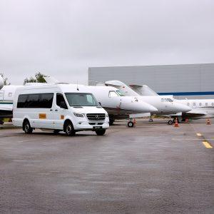 Внуково-3 будет встречать гостей на Sprinter c VIP салоном
