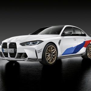 Аксессуары и опции M Performance для новых BMW M3 и BMW M4