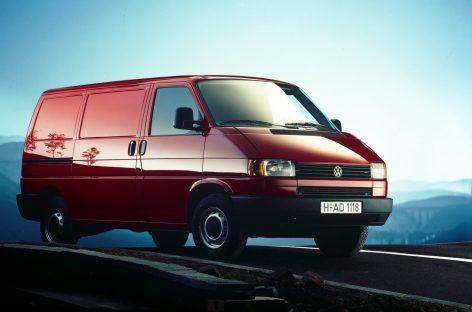 Volkswagen T4 – 30 лет с начала производства